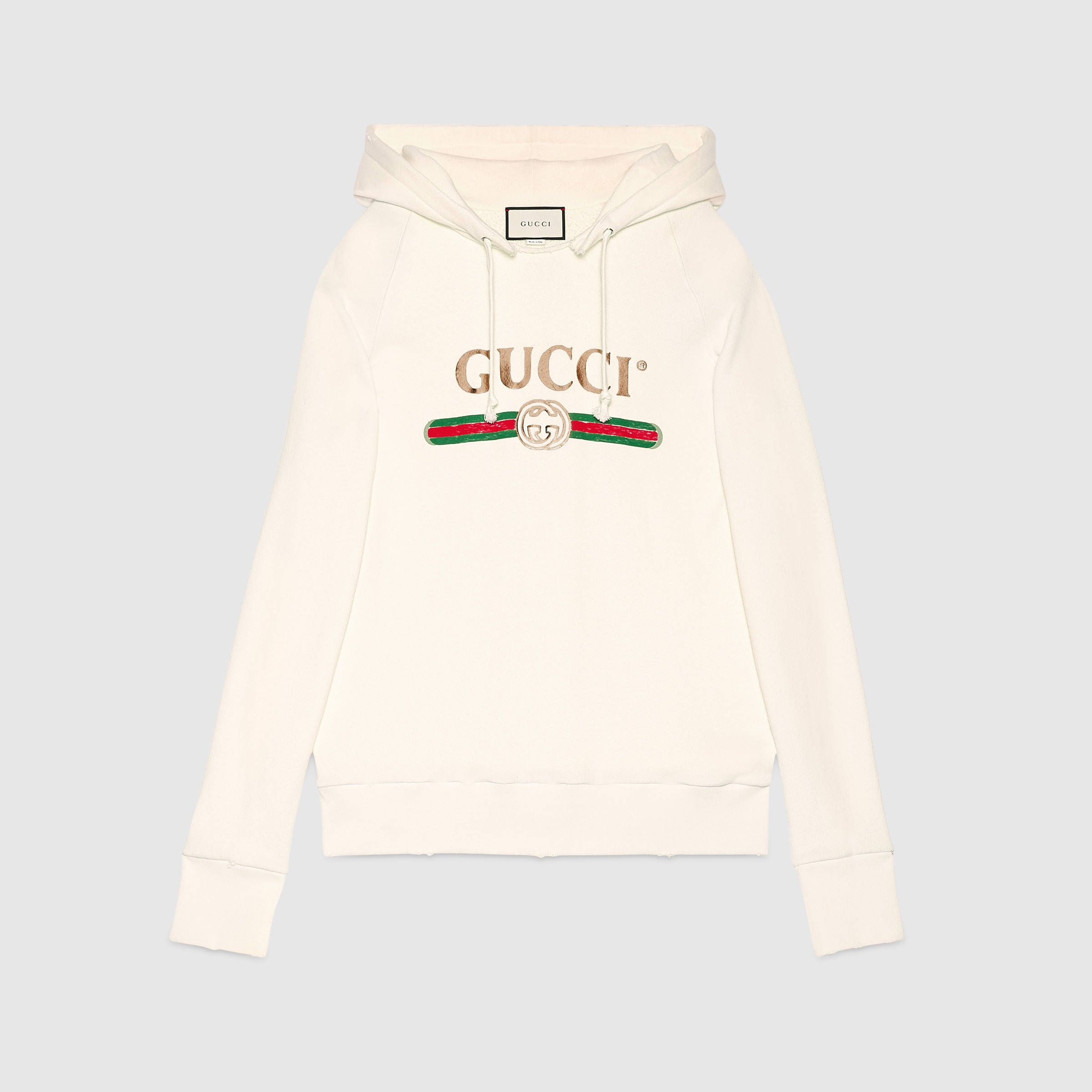 c363ff8d79ba Embroidered hooded sweatshirt - Gucci Women s Sweatshirts   T-shirts  457931X5N719234