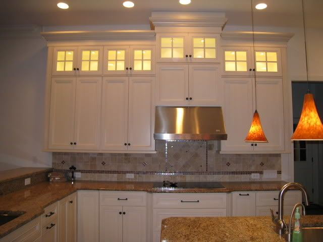10 foot kitchen cabinets | the middle cab was missing the top part