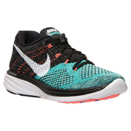 5b5cc7fa6b6a Women s Nike Flyknit Lunar 3 Running Shoes - 698182 008
