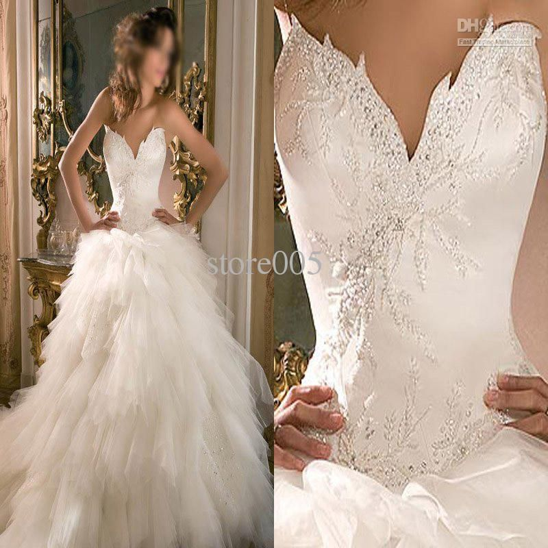 Hot Sell Unique Design Ball Gown Bridal Wedding Dresses
