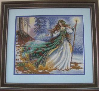 «Зимова фея». Автор Поліна Федорівна Міхно