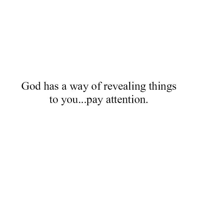 God has a way...