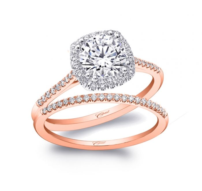 Engagement Ring Lc5410rg Rose Gold Collection Coast Diamond Bridal Collections
