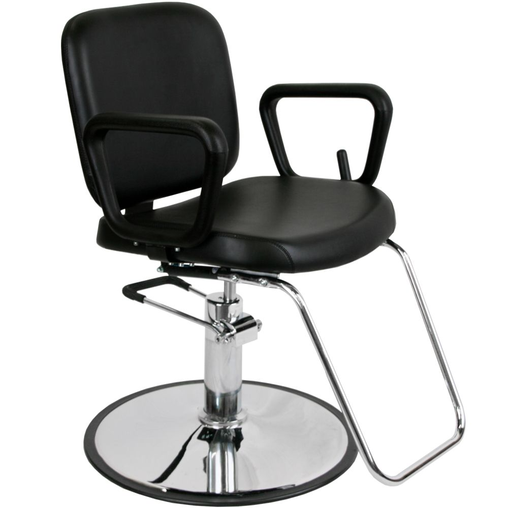 White hair salon chairs - Premium Multi Purpose Reclining Styling Chair Mp R5