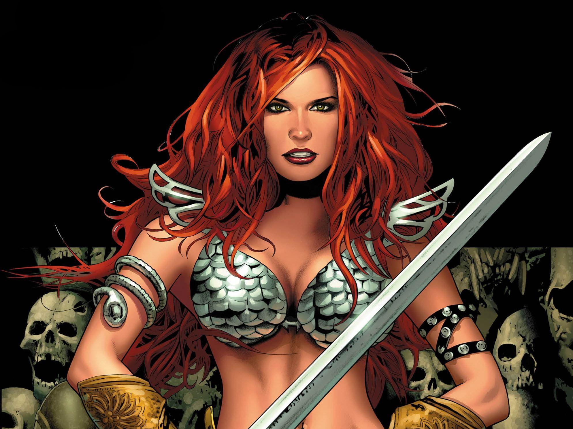 Red Sonja Computer Wallpapers Desktop Backgrounds 1988x1491 Id 446307 Red Sonja Superhero Costumes Female Warrior Woman