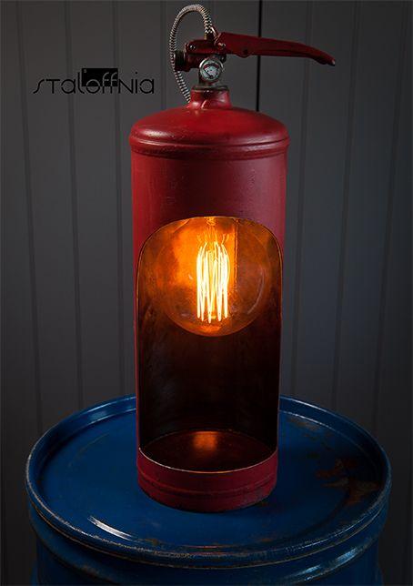 Fire Extinguisher 3 Feuerloscher Lampendesign Lampe