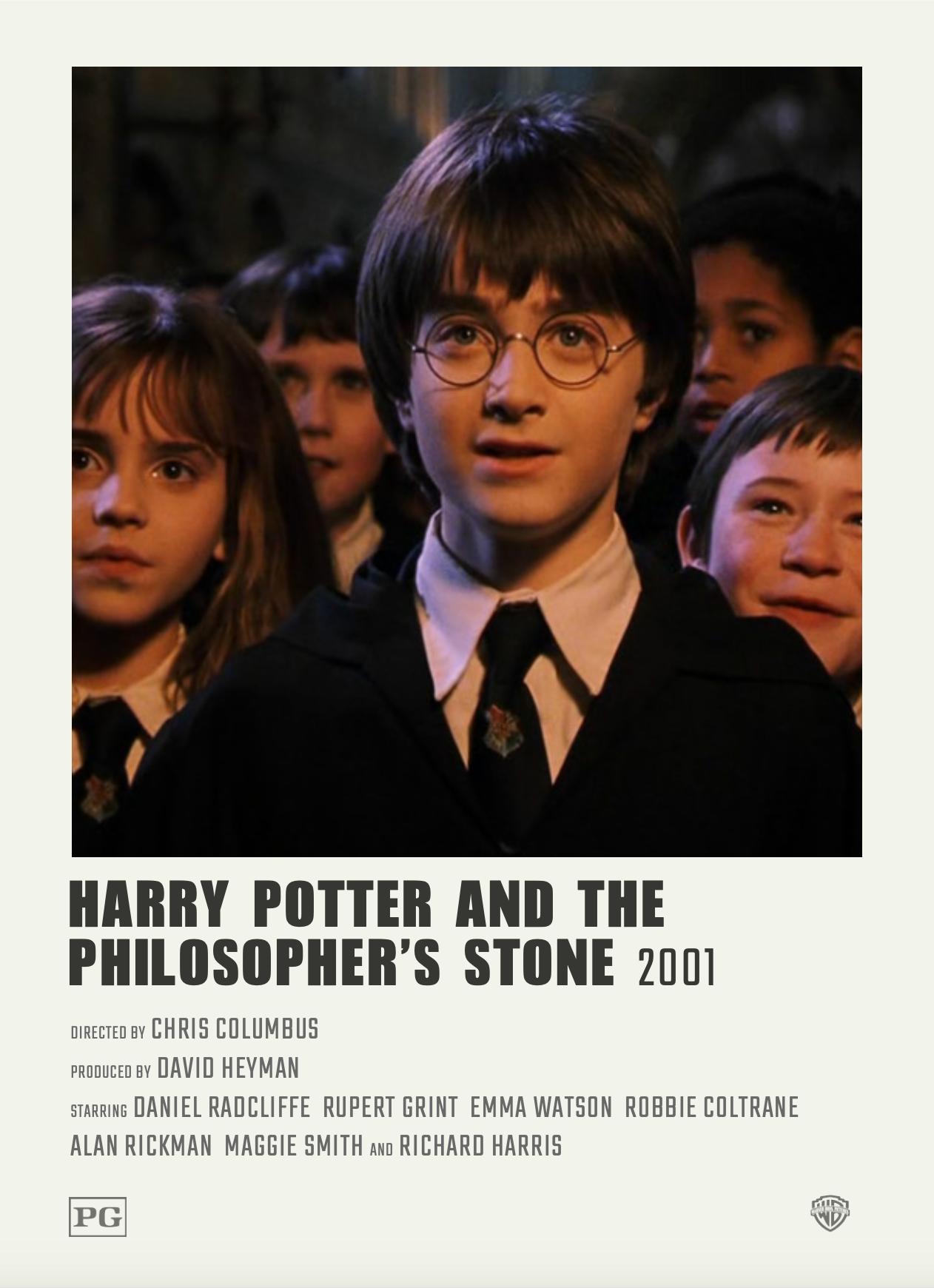 Alternative Minimalist Polaroid Movie Poster Harry Potter And The Philosopher S Stone Harry Potter Movies Harry Potter Poster Harry Potter Scrapbook