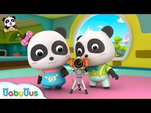 Panda Kiki Photographer | Baby Panda's Cooking Competition | Kids Role Play | BabyBus - YouTube #babypandas