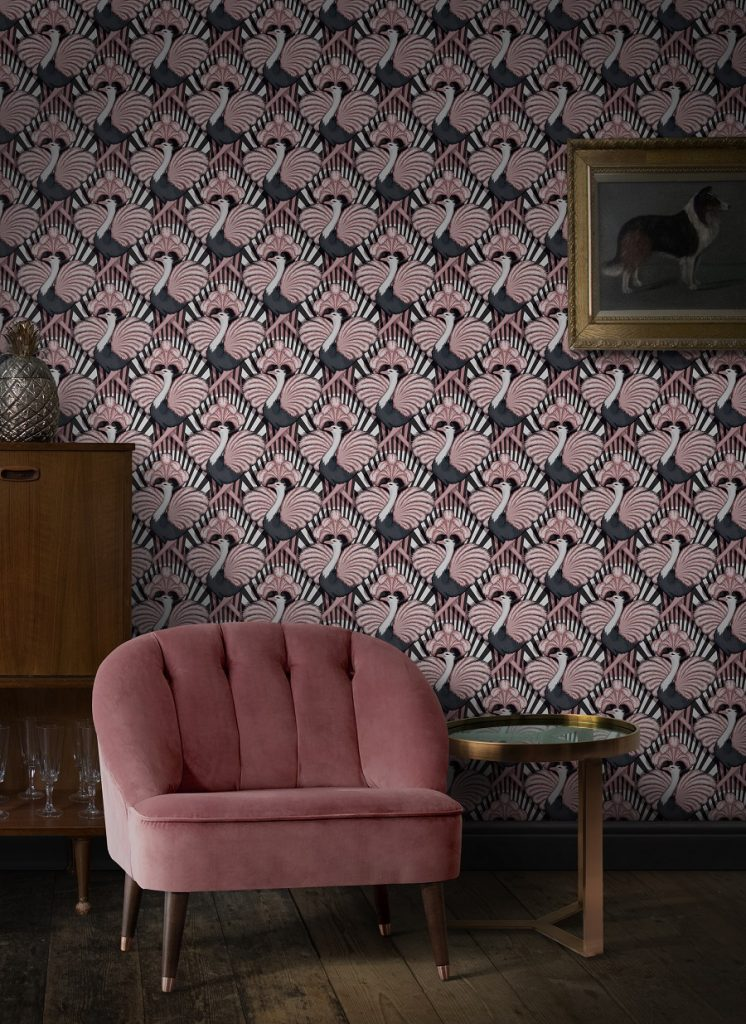 Introducing Divine Savages And Their Ultra Glamorous Wallpaper Dear Designer Glamorous Wallpaper Luxury Wallpaper Interior