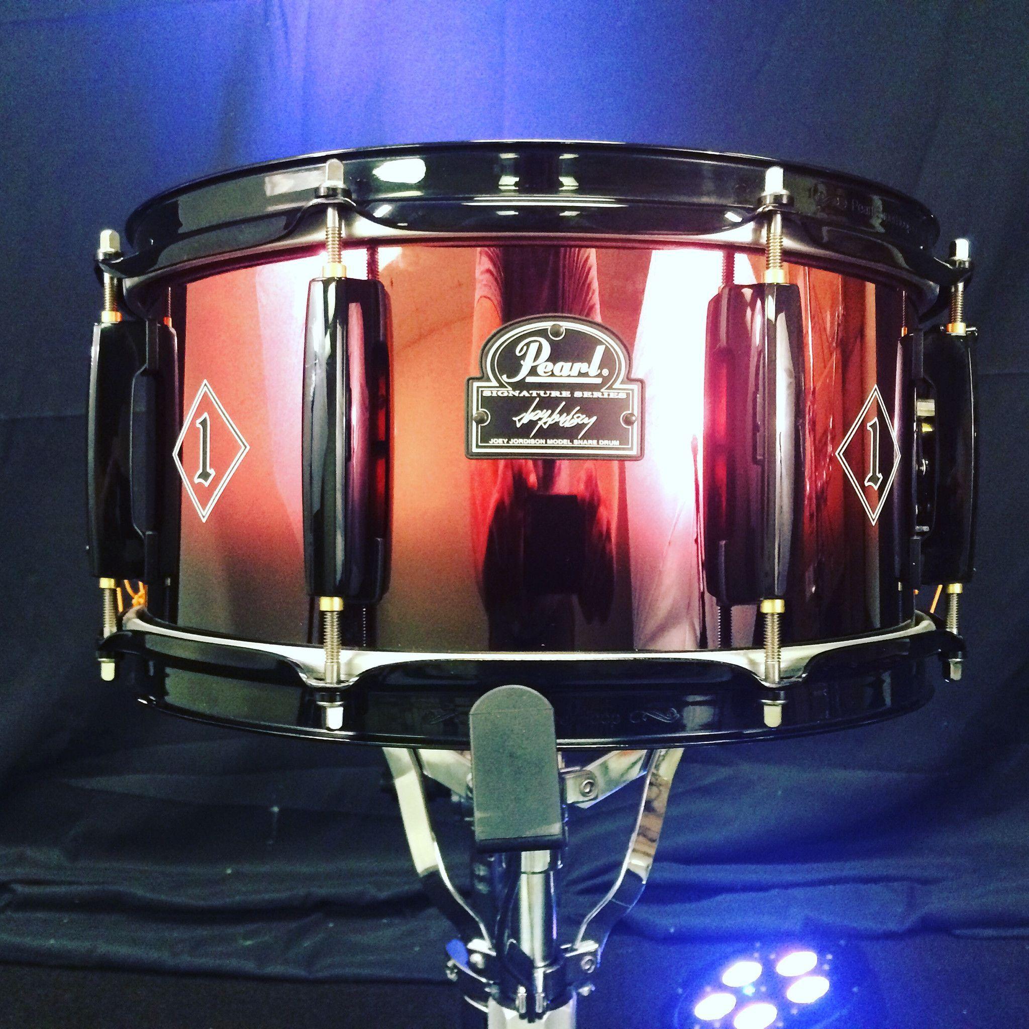 """Pearl Joey Jordison 13"""" Signature Snare Drum"""