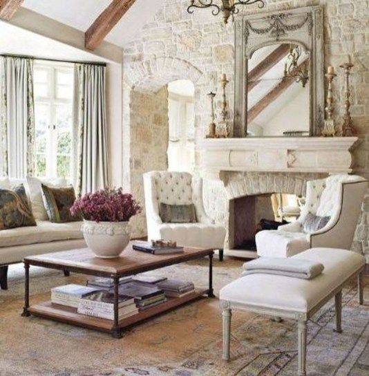 49 cozy french country living room decor ideas ready for a change rh ar pinterest com