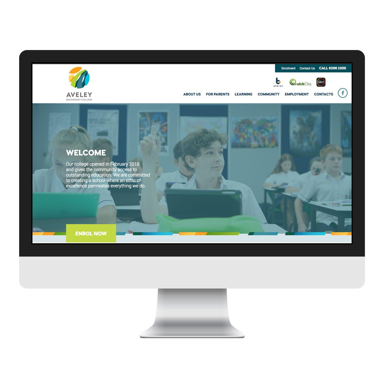 Pin By Meta Creative On School Website Design Web Design Freelance Web Design School Website