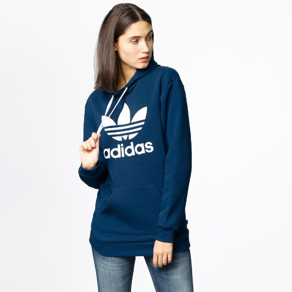 Adidas Women S Trefoil Hoodie Adidas Originals Women Adidas Women Adidas [ 930 x 930 Pixel ]