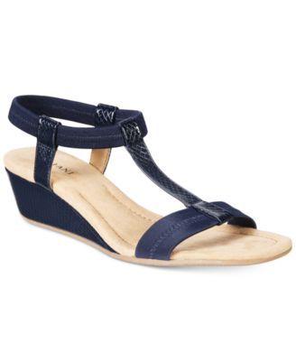 200d3545 Alfani Women's Voyage Wedge Sandals, Created for Macy's | macys.com
