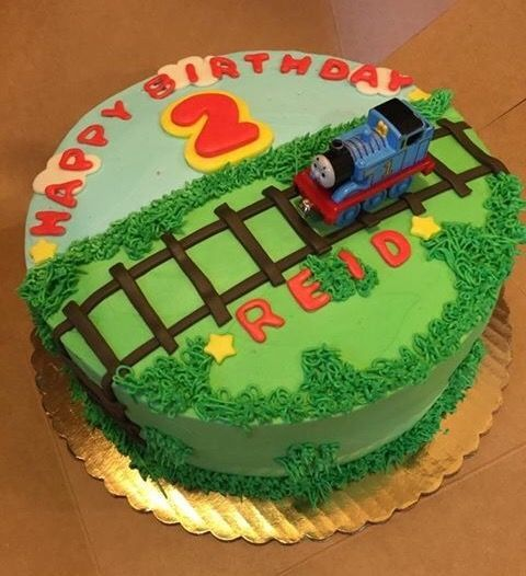 Thomas Train Birthday Cake Ideas Thomas Birthday Cakes Train Birthday Cake Birthday Cake Kids