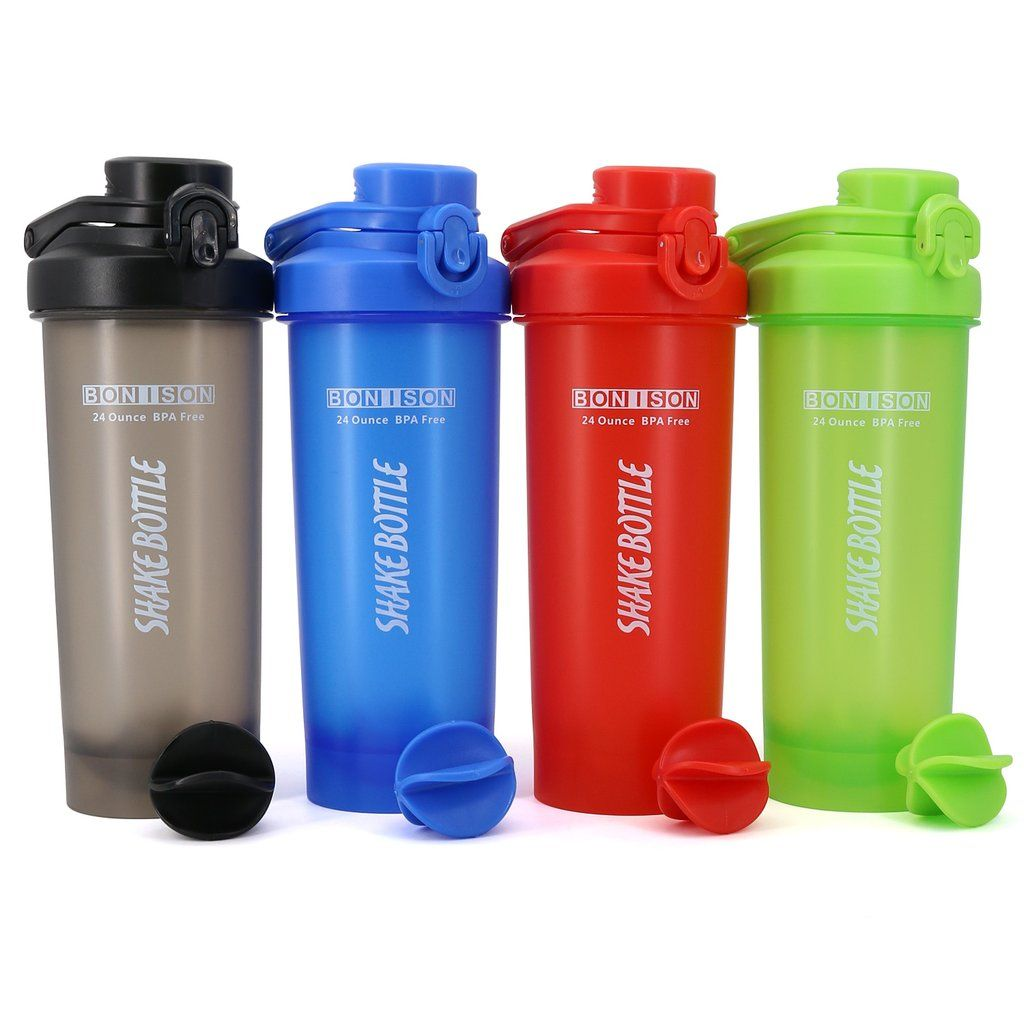 Shaker Protein Mixing Bottle Cups Powder Blender Smoothie