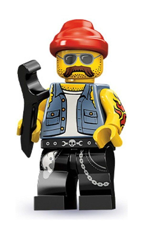 Lego Series 10 Motorcycle Mechanic Mini Figure Best Price