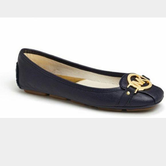 bb771d4341ac0 Michael Kors Navy blue Fulton shoe Michael Kors slip on