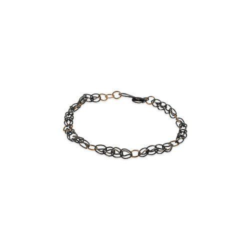 MELISSA JOY MANNING - Mixed Metal Woven Bracelet - $0