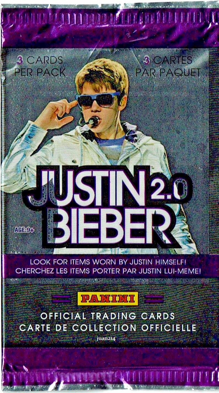2011 Justin Bieber 2 0 Panini Trading Cards Pack My World Believer Breathe Pack Of Cards Trading Cards Justin Bieber [ 1429 x 795 Pixel ]
