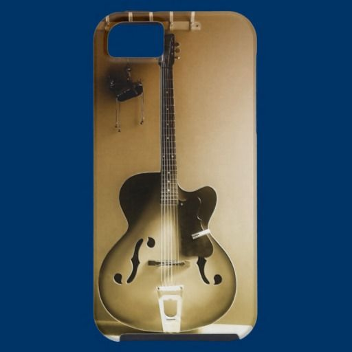 A Lone Guitar iPhone 5 Cases