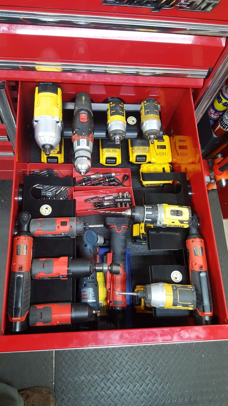 Drawer In Snap On Epiq With Power Tools Set On A Killer