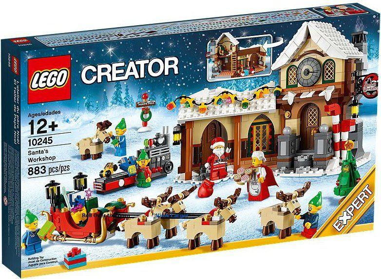 Lego creator la bottega di babbo natale 10245 il for Prezzi tatuaggi amanda toy