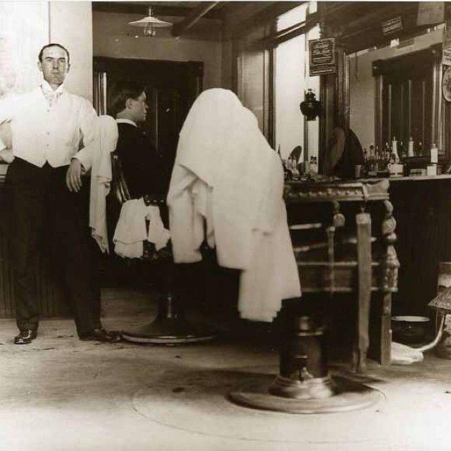 vintagebarbershop:  #vintage #hotTOWEL #SHAVE #vintagebarbering - @barbersince98- #webstagram