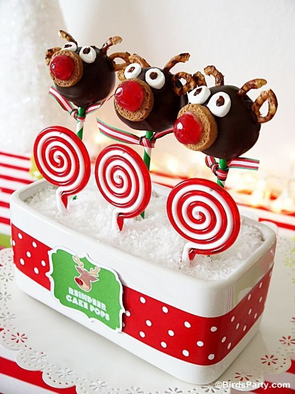 Kids Christmas Party Ideas Pinterest Part - 19: Kids Christmas Party Food Presentations | Rudolph-party-food-cute-kids-