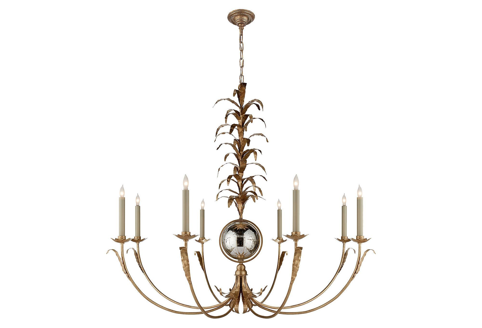 Gramercy chandelier gilded ironfavorite visual comfort co gramercy chandelier gilded ironfavorite visual comfort aloadofball Choice Image