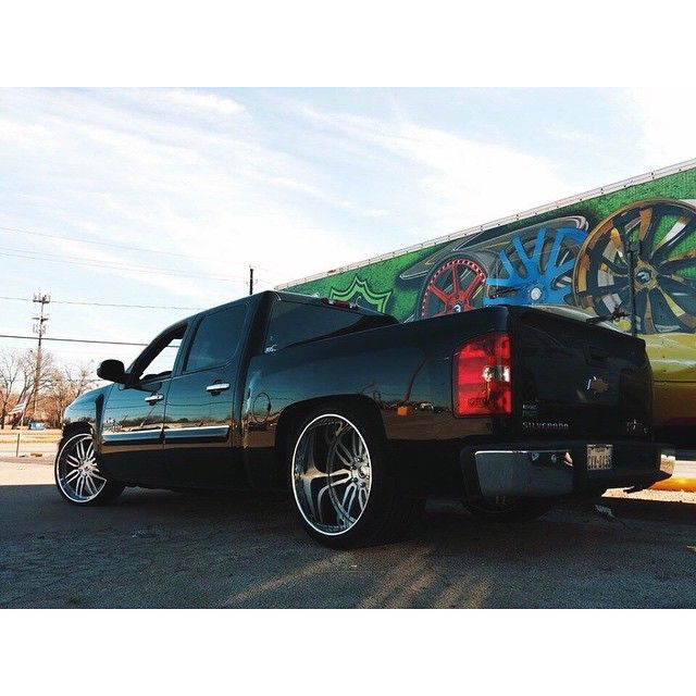 Chevy Silverado 1500 Custom Deep Dish Rims Custom Jeep Jeep
