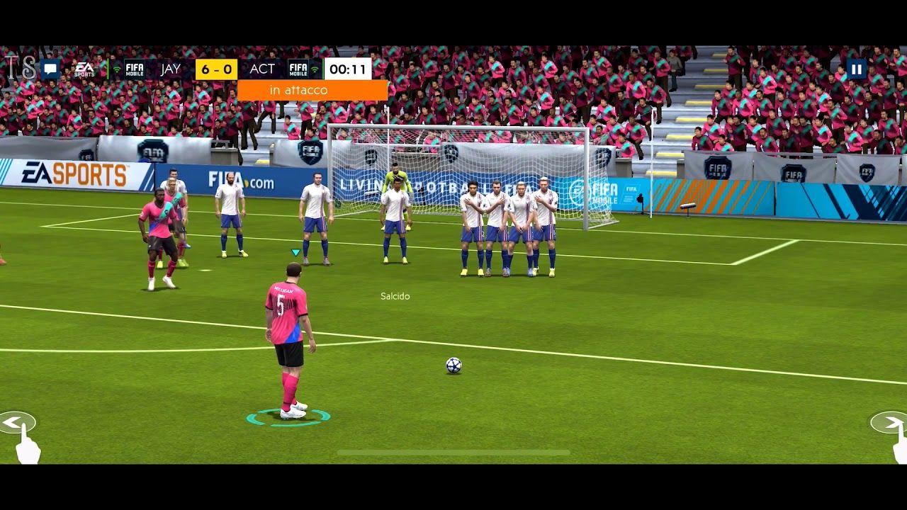 FIFA Mobile 2019 TeleSpot iOS Gameplay 1 Pubblicità