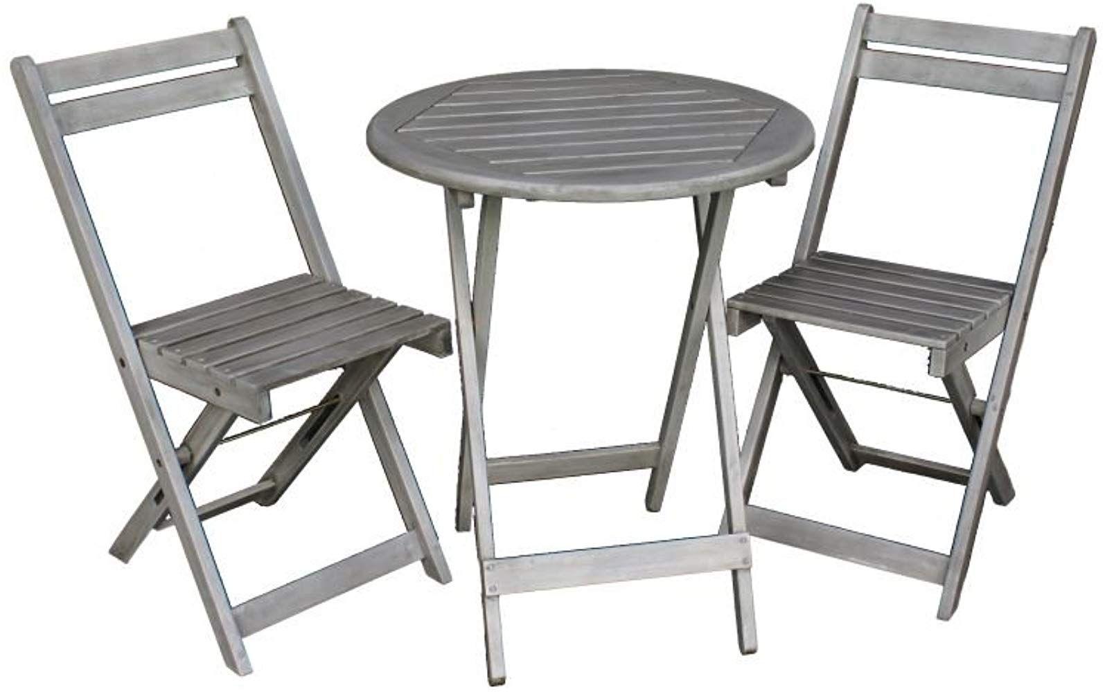 Bistrotisch Mit Stühlen Outdoor.Balkon Möbel Set Bistrotisch Mit 2 Stühlen Balkonmöbel
