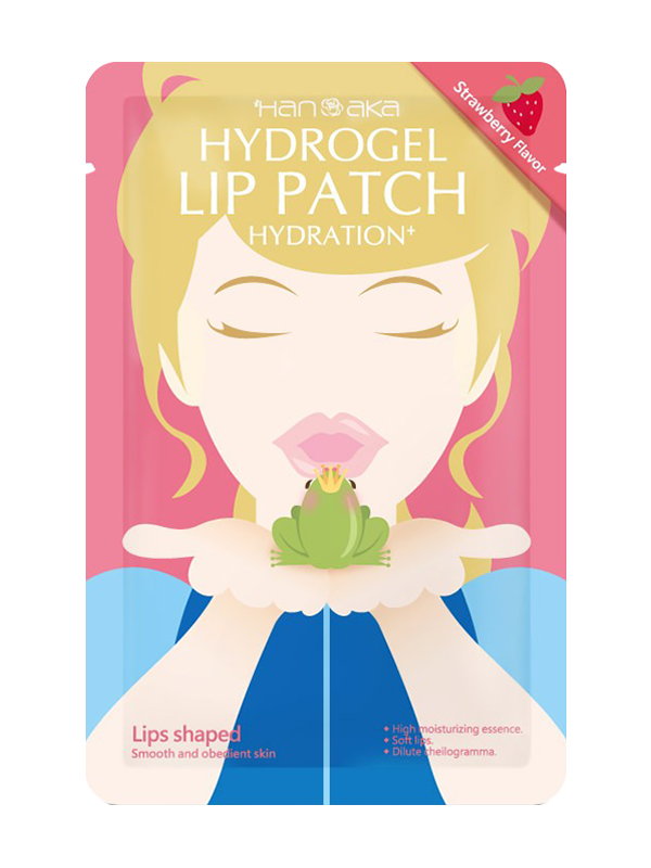 Hanaka Hydrogel Lip Patch - Strawberry - Beauteque
