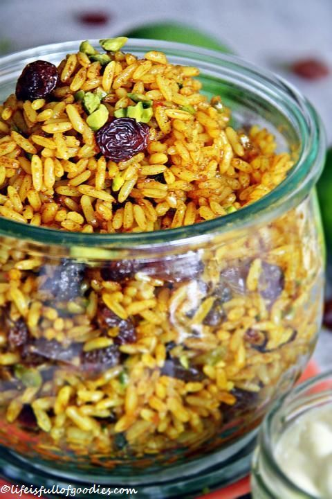 Photo of Fried oriental rice salad with lime dip – Life Is Full Of Goodies