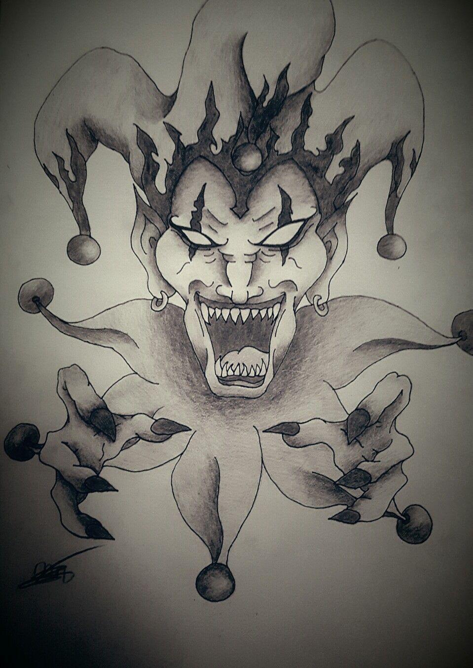 scary joker drawing 2 art joker drawings scary