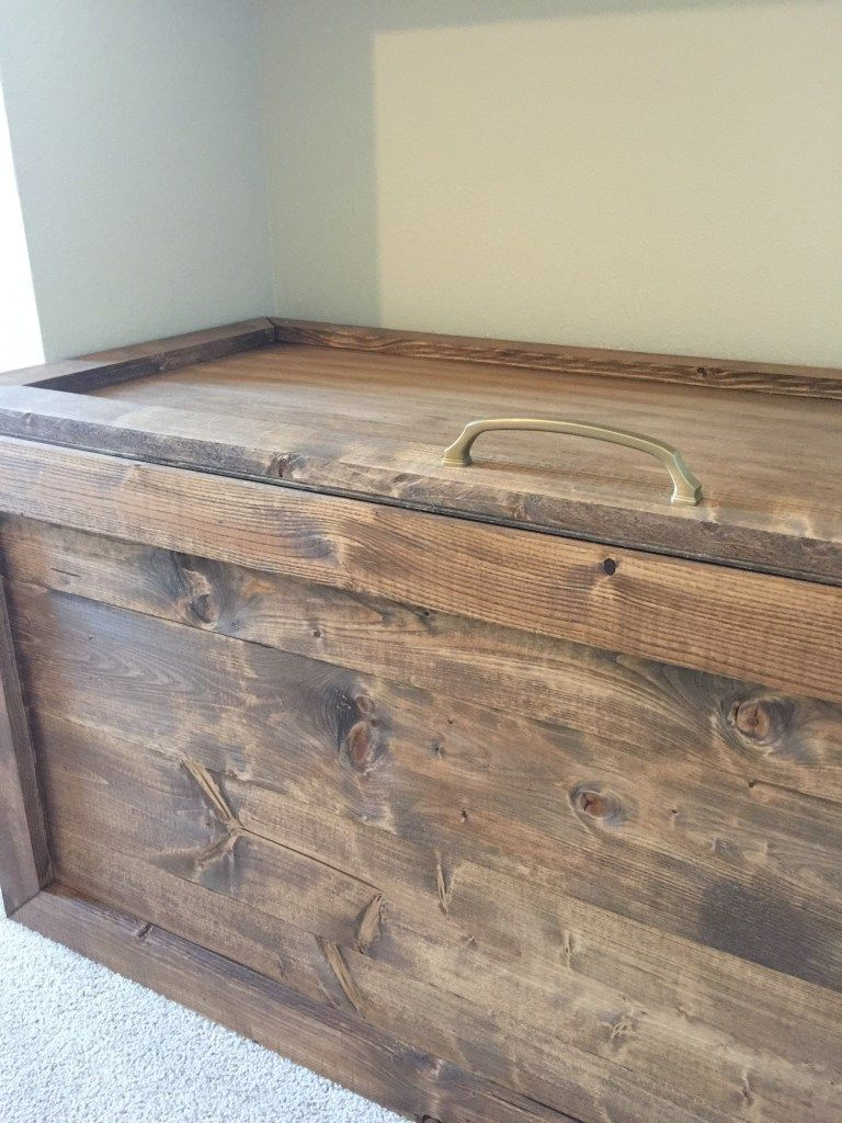 Easy Diy Toy Box Diy Toy Box Diy Toy Storage Chests Diy