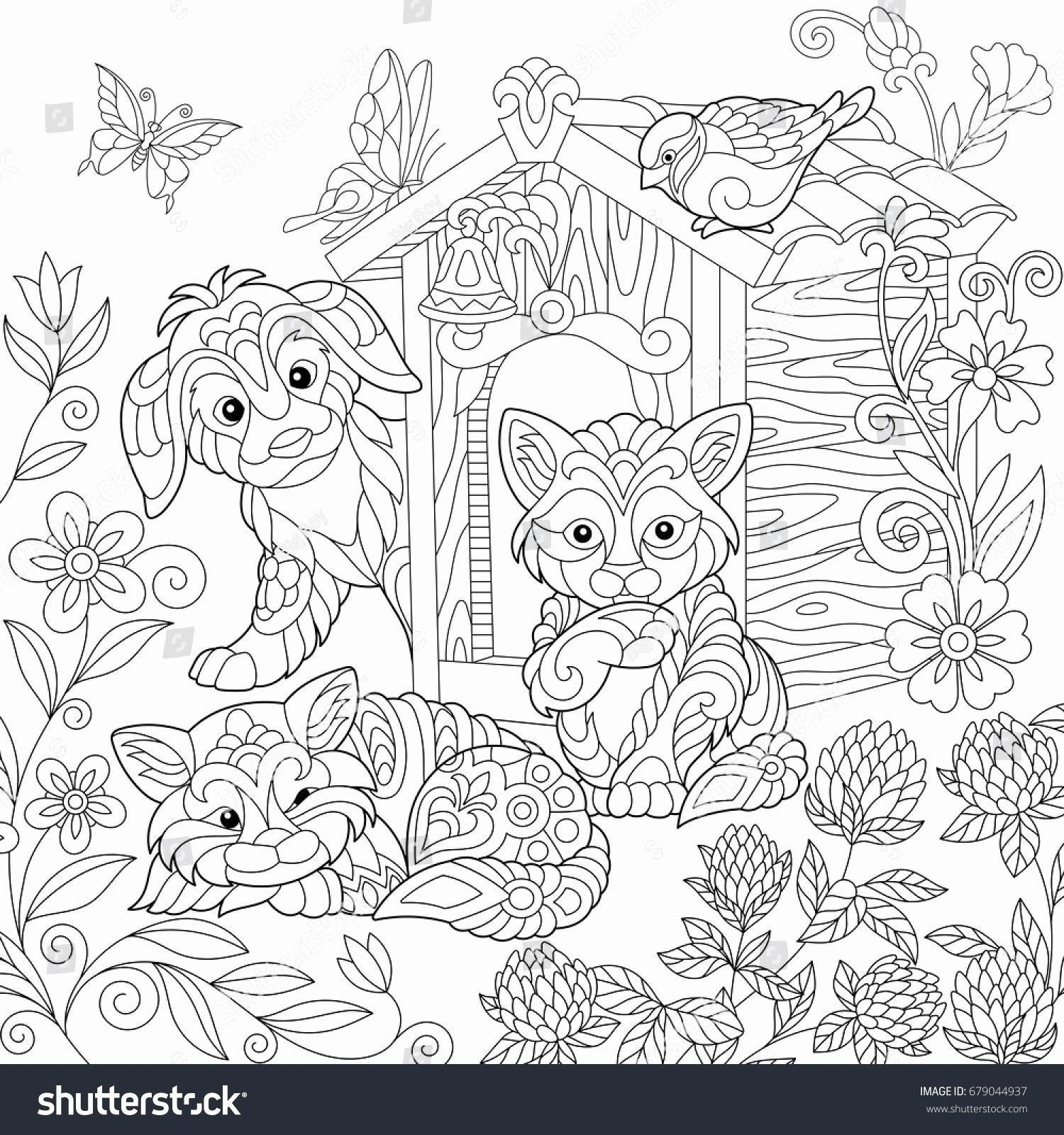 Cute Cat Coloring Pages New Fresh Cute Cat Coloring Pages Cat Coloring Page Puppy Coloring Pages Dog Coloring Page