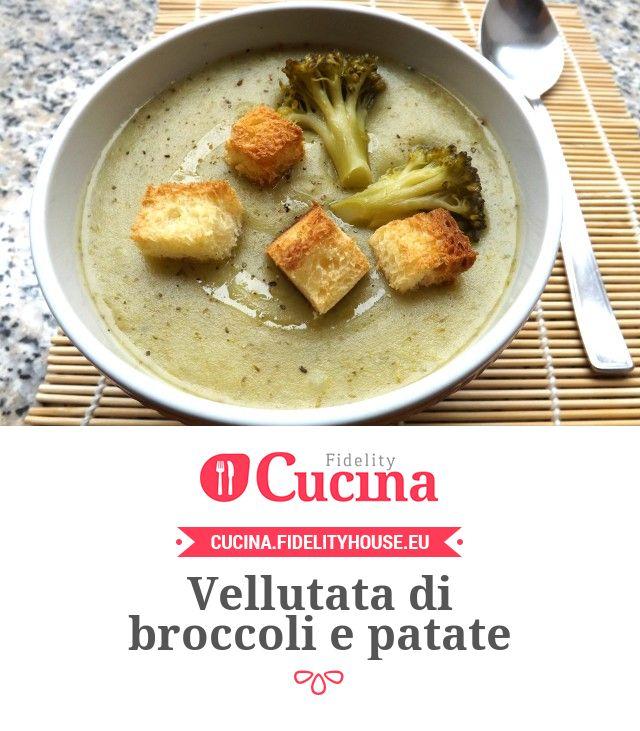 Vellutata di broccoli e patate della nostra utente Elisa. Unisciti alla nostra Community ed invia le tue ricette!
