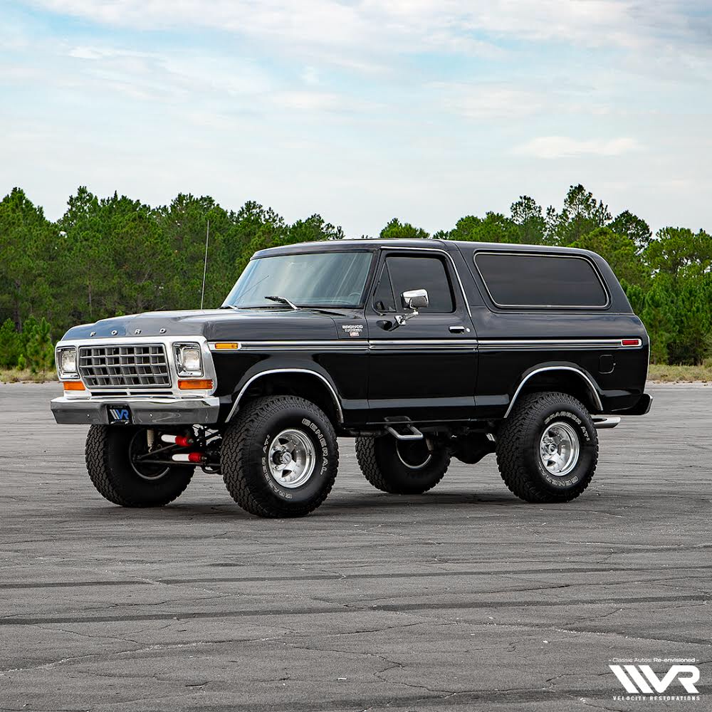 Velocity Restorations In 2020 Ford Bronco Classic Ford Broncos