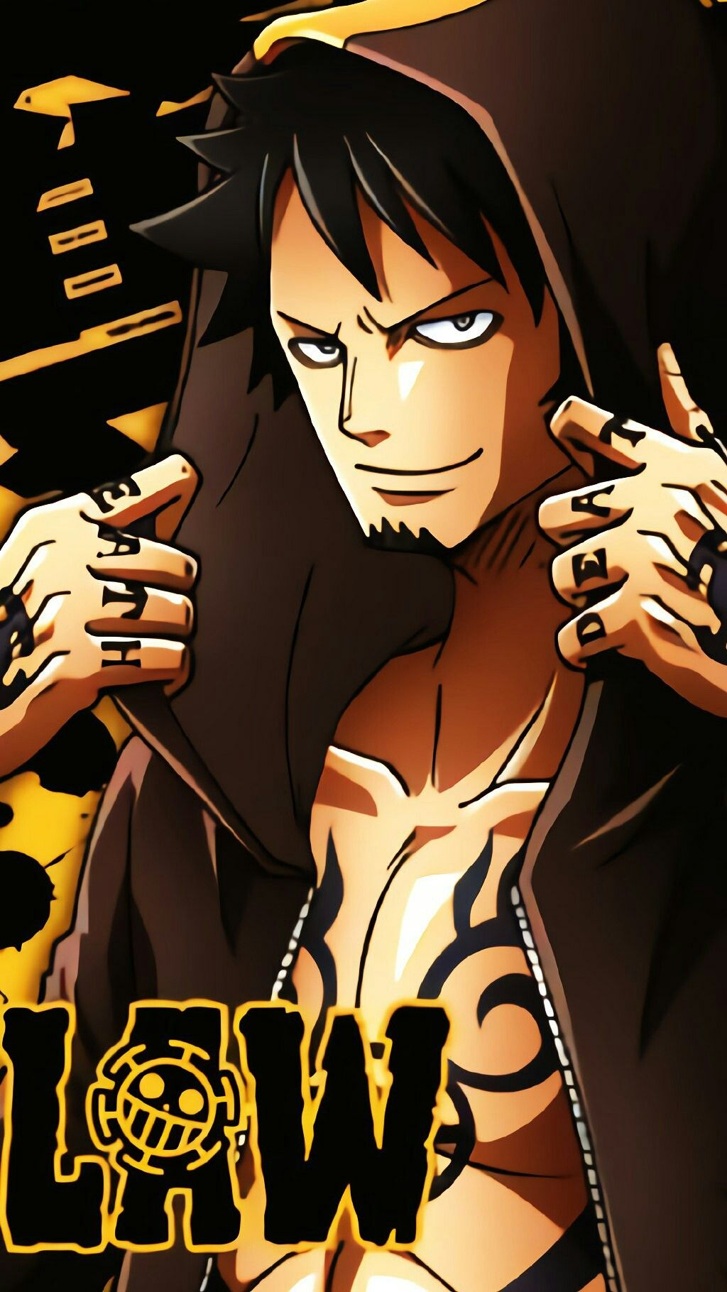Trafalgar Law With Images One Piece Wallpaper Iphone One