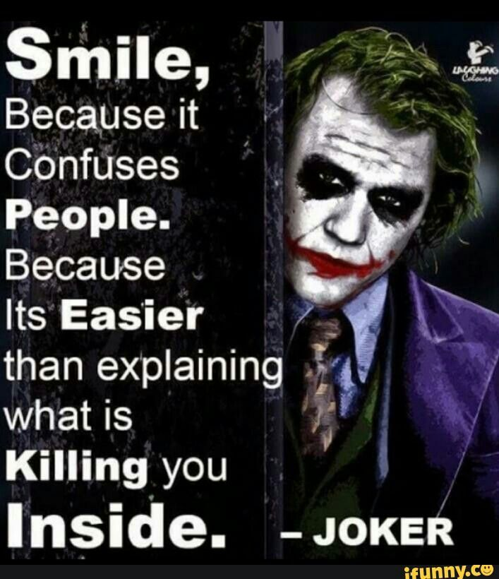 It S Sad How Much I Love This Quote Dc Villains Joker Quotes