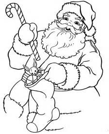 santa coloring pages 2017 - Xmas Coloring Pages