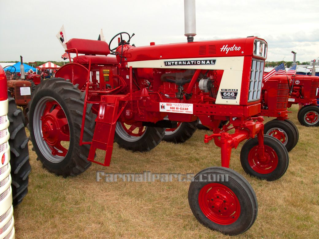 hight resolution of farmall hi clear hydro 666