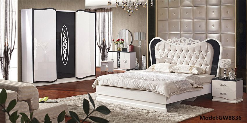 Guangzhou Furniture Turkish And Arabic Style Bedroom