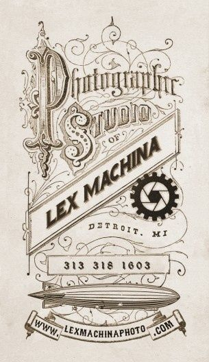 Vintage photography business card western steampunk victorian vintage photography business card western steampunk victorian reheart Choice Image