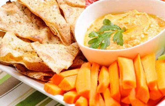 garlic vegetable hummus  a perfect mrs dash recipe