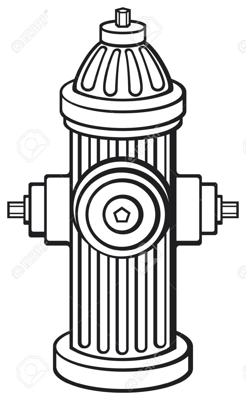 fire hydrant royalty free cliparts vectors and stock  [ 799 x 1300 Pixel ]