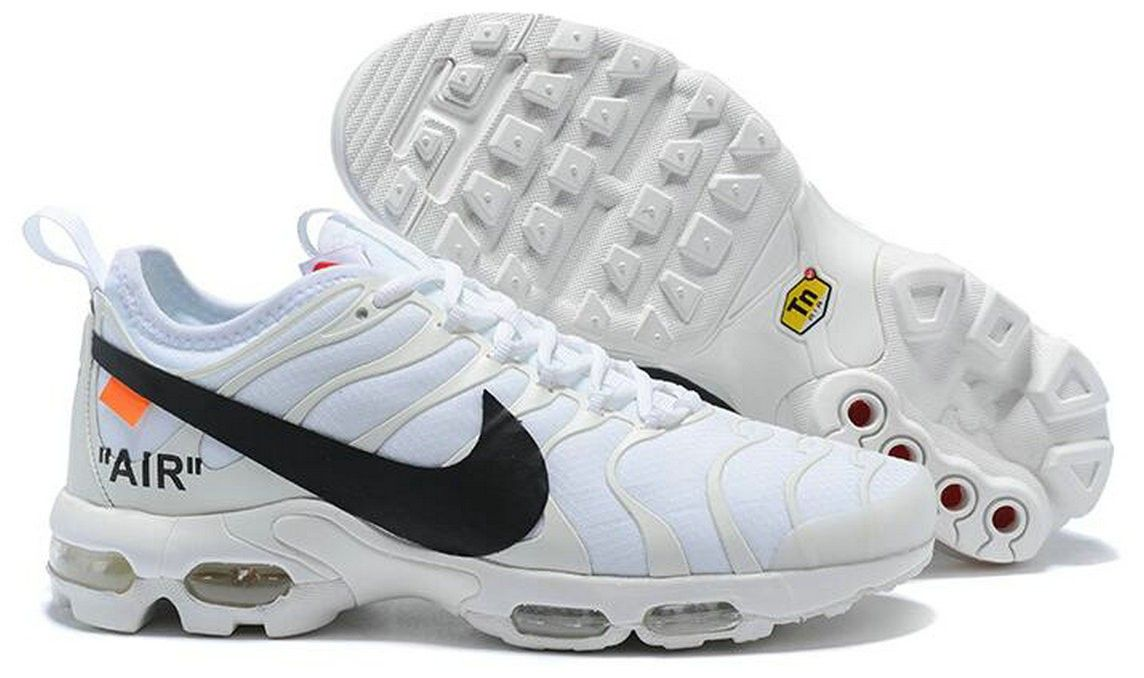 air max plus tn uomo bianche