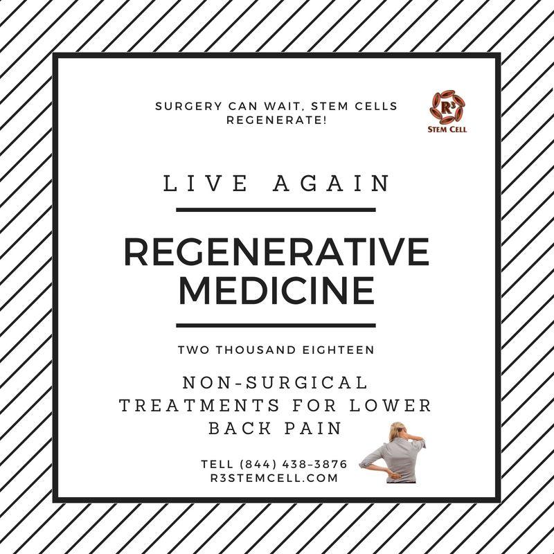 Regenerative Medicine have the unique ability to self-renew
